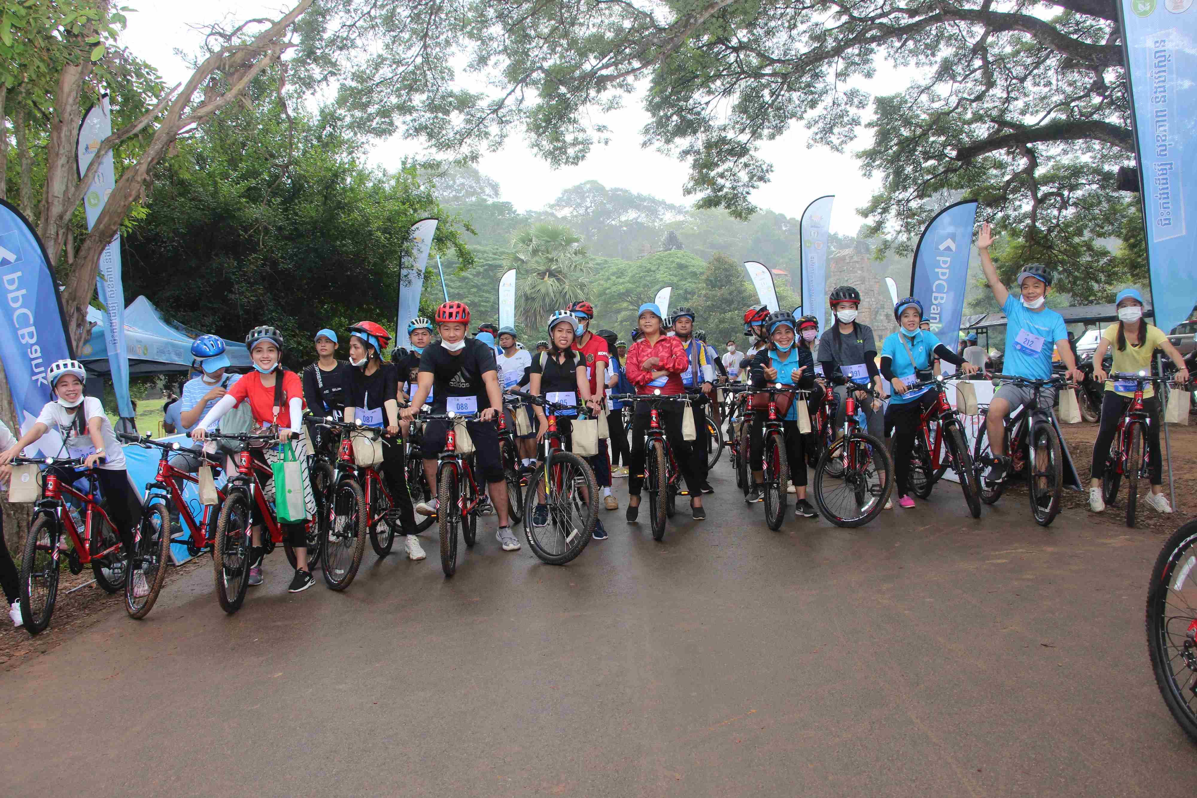J Trust Royal Bank shows support to The ABC's 2020  Bankers' Cycling Event in Siem Reap